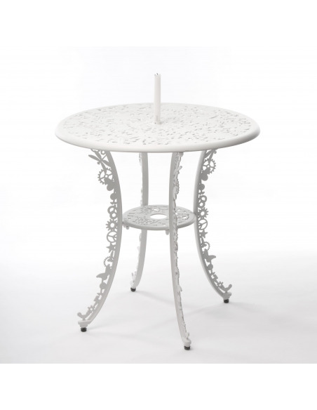 Table Industry Garden Ø 70 cm en aluminium par Seletti