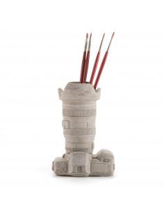 Vase en béton design Caméra en forme d'appareil photo par Seletti