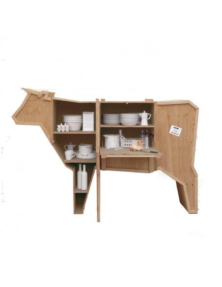 Buffet Sending Animals en forme de vache par Seletti