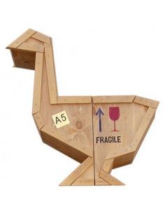 Buffet Sending Animals en forme d'oie par Seletti