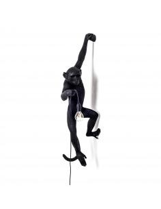 Applique murale the Monkey debout en résine noire par Seletti
