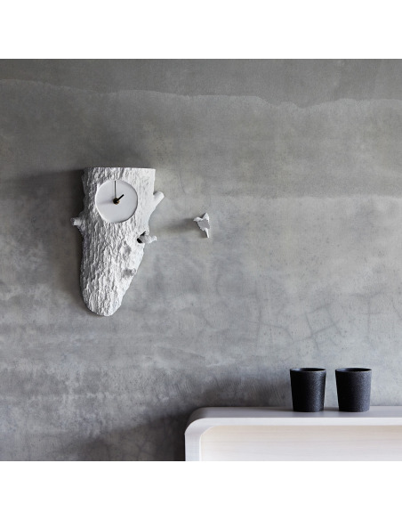 Horloge à coucou en forme d'arbre Cuckoo X CLOCK Tree par Haoshi