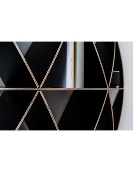 Bibliothèque géométrique Mini Comb par Jaanus Orgusaar
