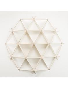 Bibliothèque géométrique Medium Comb par Jaanus Orgusaar