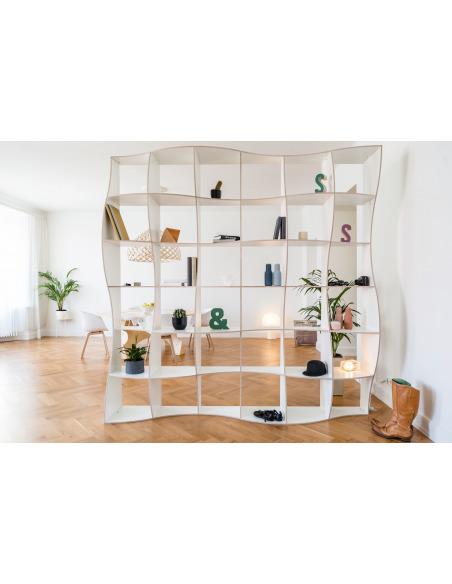 Bibliothèque DUNE par Jaanus Orgusaar au design scandinave