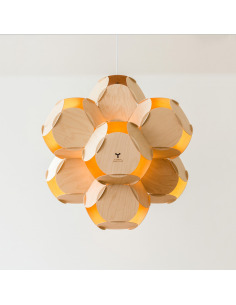 Suspension 8CELLS par Jaanus Orgusaar au design scandinave