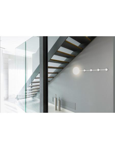 Applique murale portemanteau INOVA LED au design contemporain