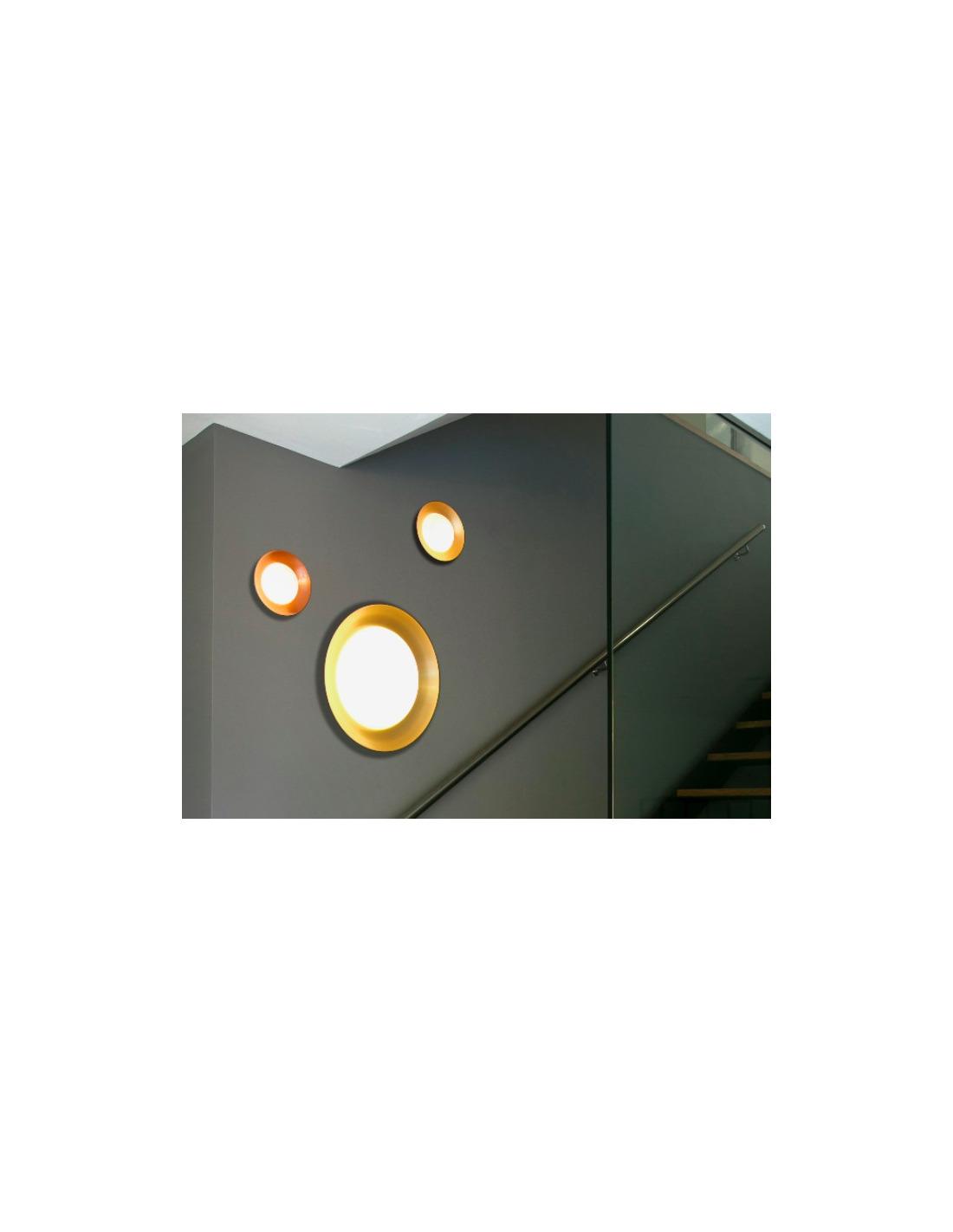 applique murale design globy led 45cm en m tal et verre par alex manel llusc otoko. Black Bedroom Furniture Sets. Home Design Ideas