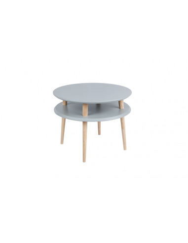 Table basse en bois UFO medium par Magdalena Garncarz et Szymon Hanczar