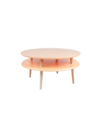 Table basse en bois UFO low par Magdalena Garncarz et Szymon Hanczar