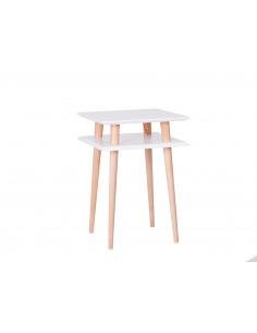 Table basse en bois Square high par Magdalena Garncarz et Szymon Hanczar