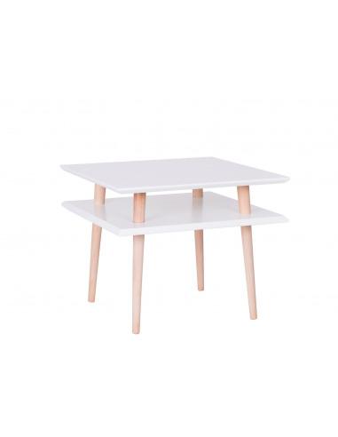 Table basse en bois Square medium par Magdalena Garncarz et Szymon Hanczar