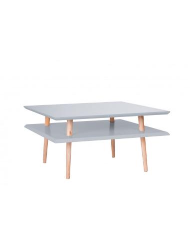 Table basse en bois Square low par Magdalena Garncarz et Szymon Hanczar