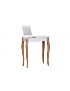 Console meuble design en bois avec miroir Lillo small par Marcin Gładzik
