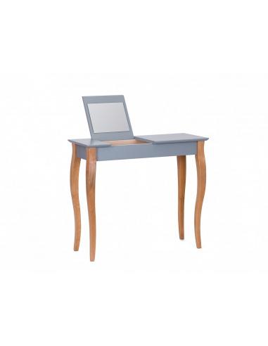 Console meuble design en bois avec miroir Lillo medium par Marcin Gładzik