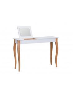 Console meuble design en bois avec miroir Lillo large par Marcin Gładzik