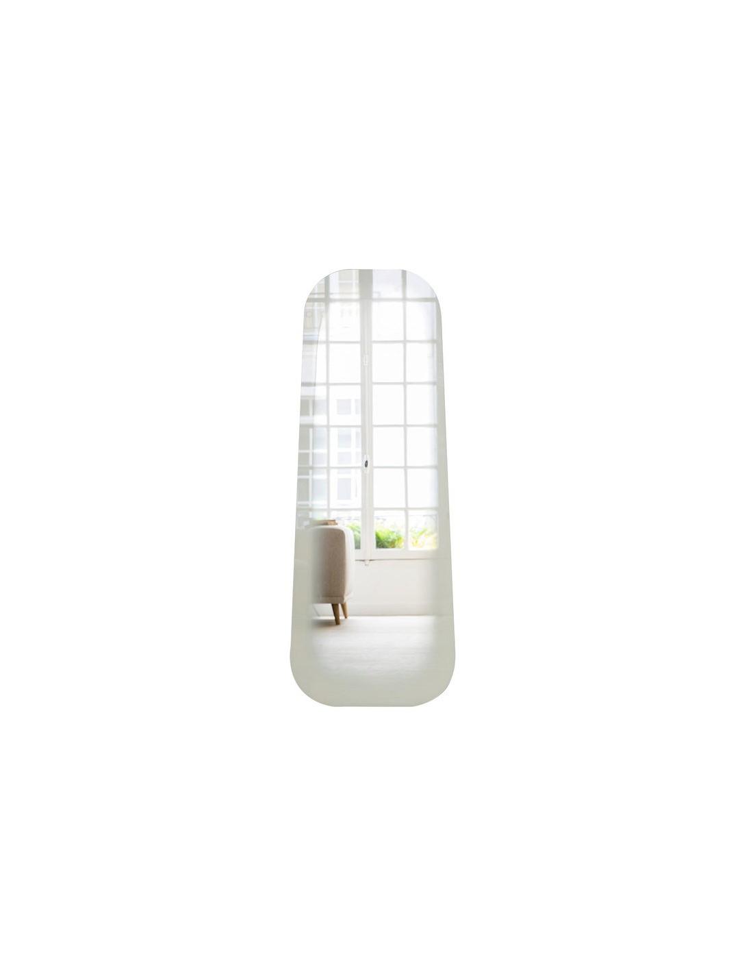 Miroir design fading blanc par thomas eurlings otoko for Miroir blanc design