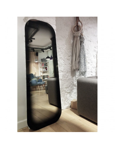 Surréaliste Miroir design FADING noir par Thomas Eurlings IK-92