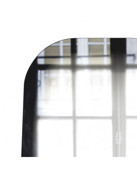 Miroir design FADING noir par Thomas Eurlings