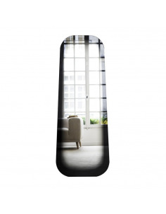 Miroir design FADING noir par Thomas Eurlings