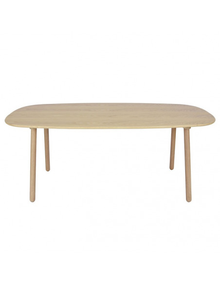 Table Ombree en chêne naturel L 190 cm par ENOstudio