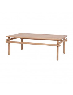 Table basse japonaise WOOMAR en chêne naturel par ENOstudio
