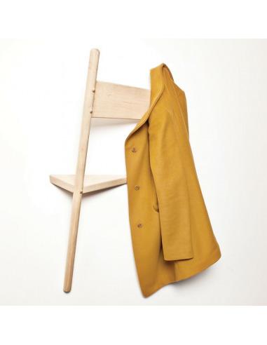 Porte-manteau mural design WALLHAX en forme de chaise par Geof Ramsay