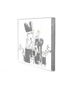 Tableau en béton En folie par Lucie Albon - Lyon Beton