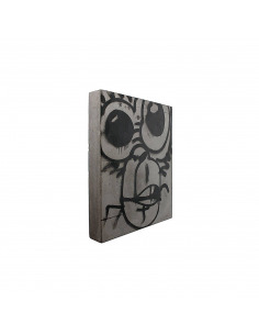 Tableau en béton design Monkey de Bertrand Jayr - LYON BETON