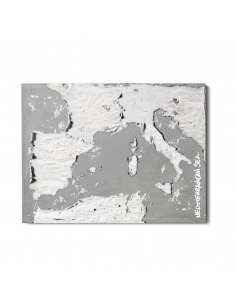 Tableau en béton design The mediterranean de Bertrand Jayr - LYON BETON