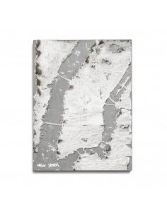 Tableau en béton design New York de Bertrand Jayr - Lyon Béton