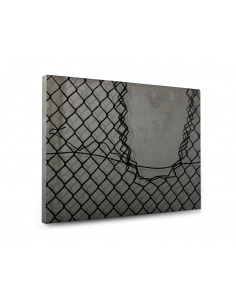 Tableau en béton design Outside de Bertrand Jayr - Lyon Béton