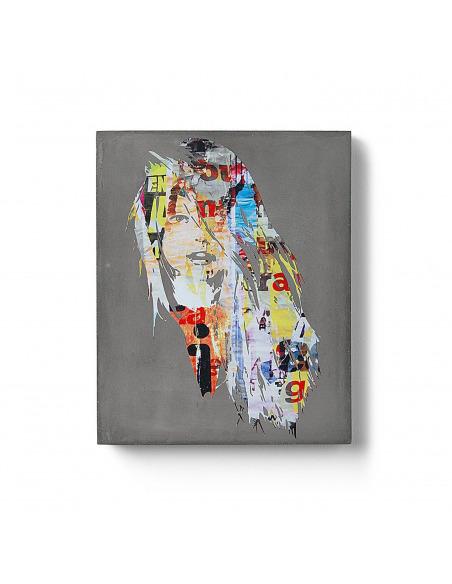 Tableau en béton Wild par Morgan Paslier - Lyon Beton