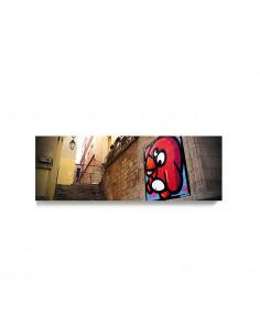 Tableau en béton Escalier street-art par Birdy Kids - Lyon Béton