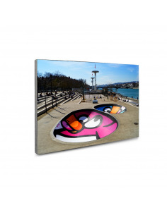 Tableau en béton New bowl guillotiere par Birdy Kids - Lyon Béton