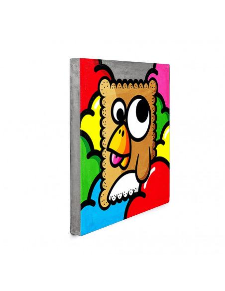 Tableau en béton biscuit tablier blanc par Birdy Kids- Lyon Beton