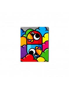 Tableau en béton Small Pilule par Birdy Kids - Lyon Beton