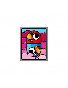 Tableau en béton Pilule rose par Birdy Kids - Lyon Beton
