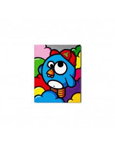 Tableau en béton Explosif par Birdy Kids - Lyon Beton
