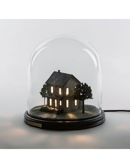 Lampe à poser My Little Neighbour en résine et verre par Marcantonio Raimondi Malerba - Seletti