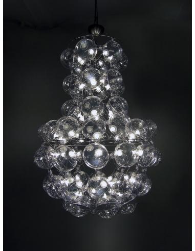 Suspension PRINCE'S avec abat-jour gonflable par Puff Buff
