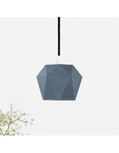 Suspension en porcelaine K1 Jeans Triangular par Gant lights