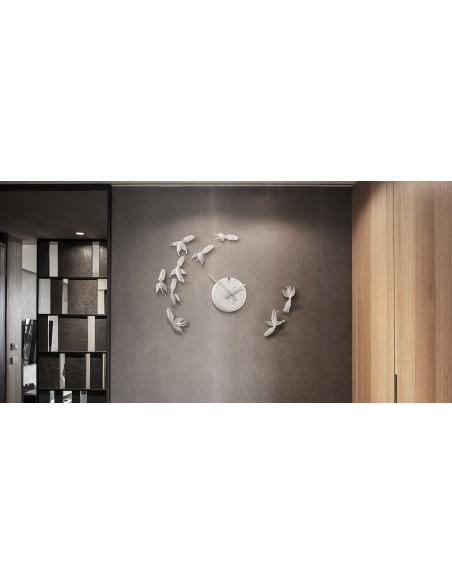 Horloge design Goldfish X CLOCK par Haoshi