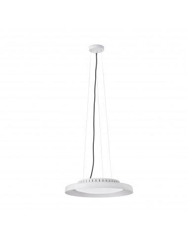 Suspension design Pumb blanc LED 24W par XJER STUDIO