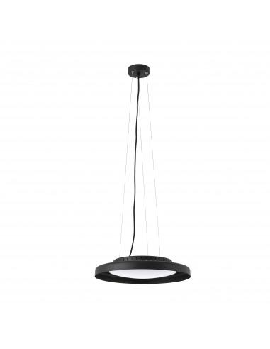Suspension design Pumb noir LED 24W par XJER STUDIO