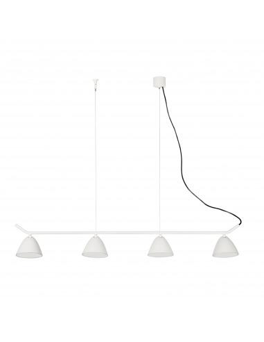 Suspension Multi Aim blanc 4x LED 10W spot cinéma au design contemporain par Estudi Ribaudi