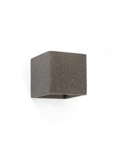Applique en béton Concrete Life noir au design moderne et minimaliste