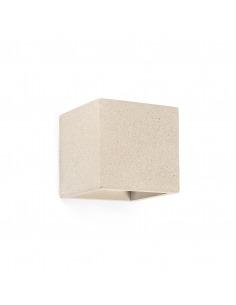 Applique en béton Concrete Life beige au design moderne et minimaliste