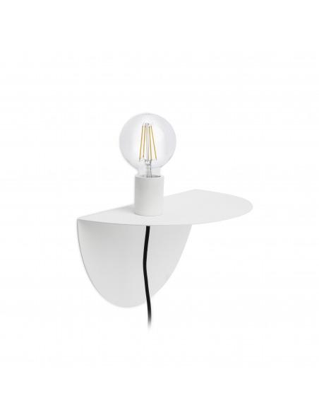 Applique / étagère design Room blanc au design moderne et minimaliste par Goula Figuera