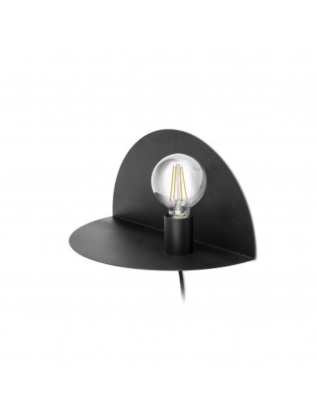 Applique / étagère design Room noir au design moderne et minimaliste par Goula Figuera